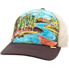 Кепка Simms Artist Series Trucker Cap - Dripping Trees Bark