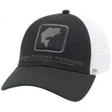 Кепка Simms Bass Icon Trucker Hat - Black