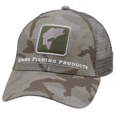 Кепка Simms Bass Icon Trucker Hat - Pico Camo Mineral