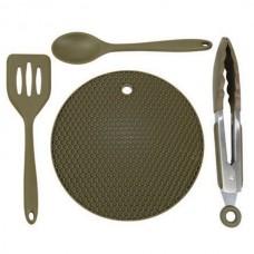 Набор кухонной утвари Trakker Armolife Silicone Utensil Set
