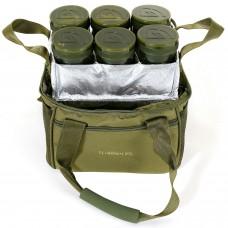 Сумка для хранения насадок с банками Trakker NXG Bait Bag