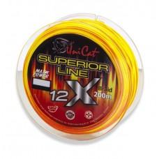 Леска плетеная UNI CAT SUPERIOR 12-X Line 200m