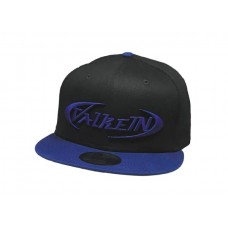 Кепка ValkeIN Original Flat Cap Black Royal/Royal