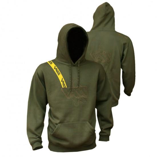 Толстовка VASS Embroidered Hoody Khaki Edition