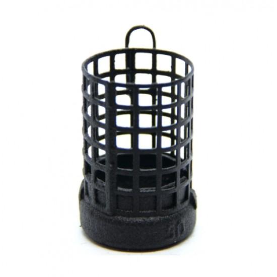 Груз-кормушка фидерная X-FEEDER ME BULLET BARREL 32мл Matt Black