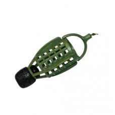 Груз-кормушка фидерная X-FEEDER PL GREEN BULLET ARCHER зеленая