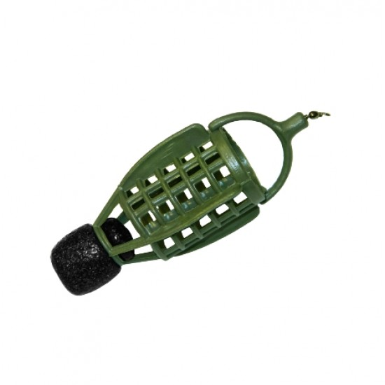Груз-кормушка фидерная X-FEEDER PL GREEN BULLET ARCHER 30мл зеленая