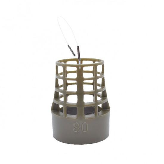 Груз-кормушка фидерная пластиковая X-FEEDER ZEUS PL BULLET BELL