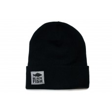 Шапка Black Fish Beanie Hat Black
