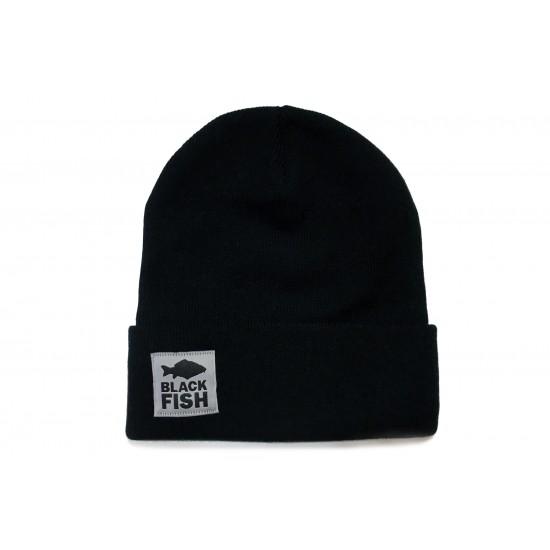 Шапка Black Fish Beanie Hat Black