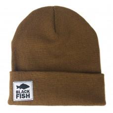 Шапка Black Fish Beanie Hat Brown