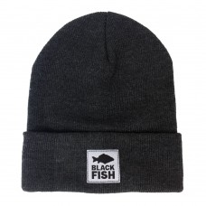Шапка Black Fish Beanie Hat Dark Grey