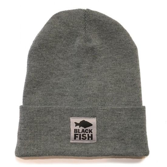 Шапка Black Fish Beanie Hat Grey