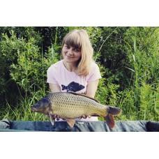 Футболка женская Black Fish Woman's T-Shirt Pink
