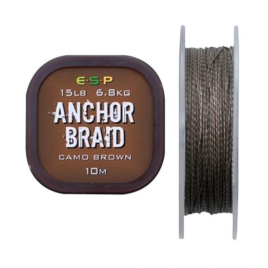 Поводковый материал ESP ANCHOR BRAID 10m 15/20lb