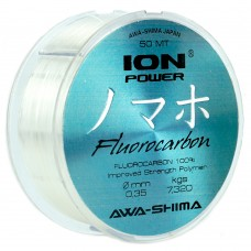 Флюорокарбон Awa-Shima ION POWER FLUOROCARBON 100% PRO-X 50m