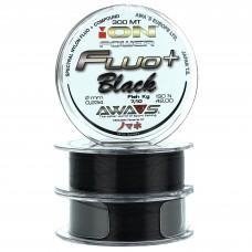 Карповая леска AWA'S ION POWER FLUO+ BLACK 600m (2x300m) черная