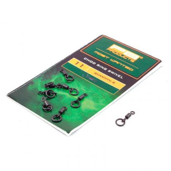 Вертлюг с кольцом PB Products Chod Ring Swivel № 11